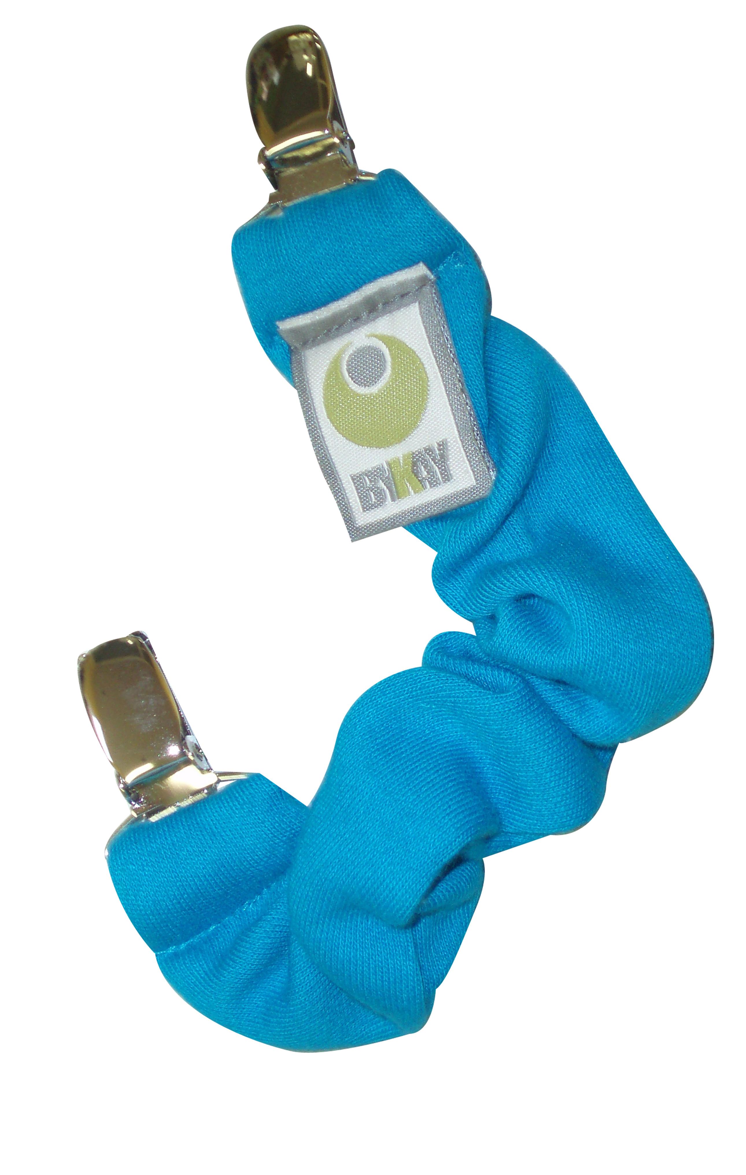 Knuffel- Speenkoord - Turquoise