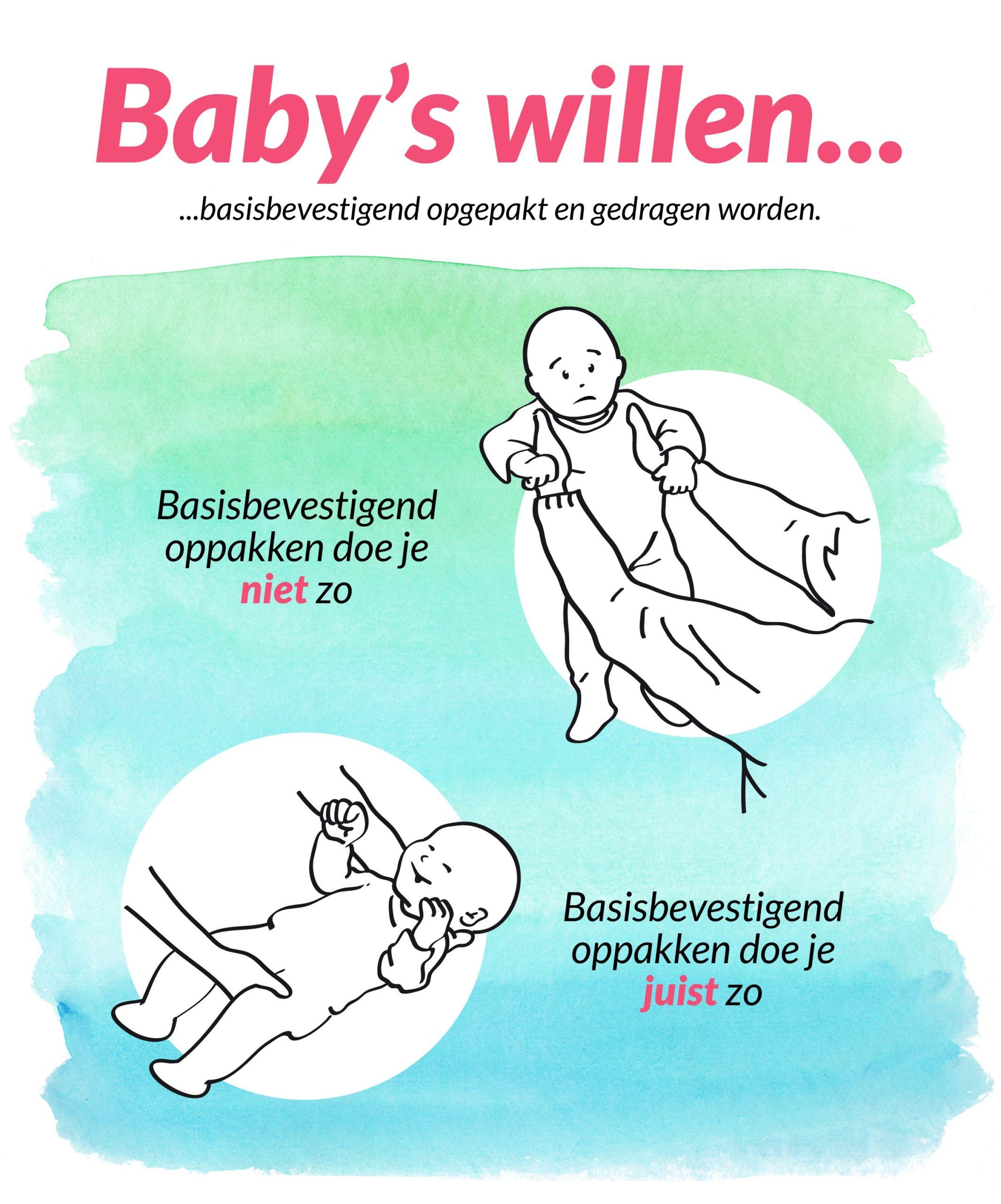 Dragen van je baby - basisbevestigend