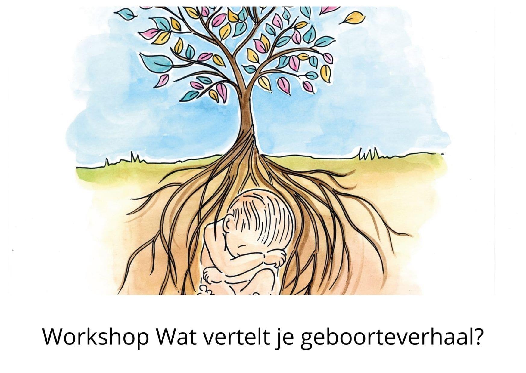 Workshop wat vertelt je geboorteverhaal
